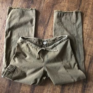 Prana Drawstring Cotton Pants Sz. S